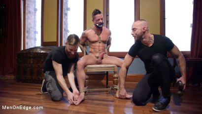 Photo number 9 from Chiseled guy begs to cum under intense edging shot for Men On Edge on Kink.com. Featuring Rex Cameron in hardcore BDSM & Fetish porn.