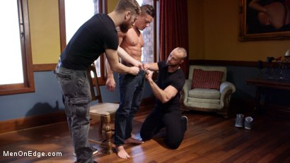 Photo number 2 from Chiseled guy begs to cum under intense edging shot for Men On Edge on Kink.com. Featuring Rex Cameron in hardcore BDSM & Fetish porn.