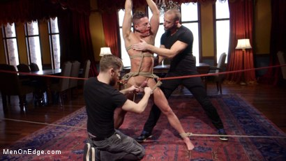 Photo number 10 from Chiseled guy begs to cum under intense edging shot for Men On Edge on Kink.com. Featuring Rex Cameron in hardcore BDSM & Fetish porn.