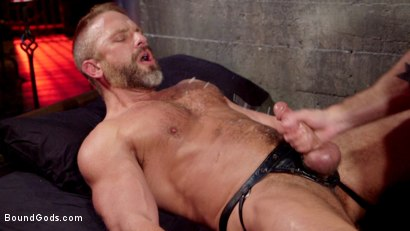 Photo number 14 from Dirk Caber and Jessie Colter Share a Night of Pain and Pleasure shot for Bound Gods on Kink.com. Featuring Dirk Caber and Jessie Colter in hardcore BDSM & Fetish porn.