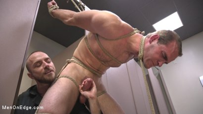 Photo number 11 from Cruising for an edging shot for Men On Edge on Kink.com. Featuring Jonah Marx in hardcore BDSM & Fetish porn.