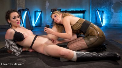 Photo number 3 from New Recruit: Crew Member Electro Fucked and Tormented shot for Electro Sluts on Kink.com. Featuring Mona Wales and Lilith Luxe in hardcore BDSM & Fetish porn.