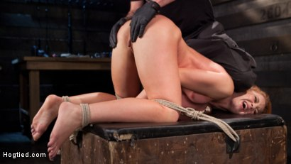 Photo number 13 from Fiery Red Head in Bondage, Tormented and Cumming like a Whore shot for Hogtied on Kink.com. Featuring Cheyenne Jewel and The Pope in hardcore BDSM & Fetish porn.