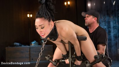 Photo number 11 from Down the Rabbit Hole shot for Device Bondage on Kink.com. Featuring Aria Alexander in hardcore BDSM & Fetish porn.