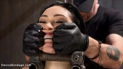 Photo number 2 from Down the Rabbit Hole shot for Device Bondage on Kink.com. Featuring Aria Alexander in hardcore BDSM & Fetish porn.