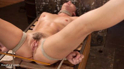 Photo number 15 from Brunette MILF Tormented in Bondage shot for Hogtied on Kink.com. Featuring Bianca Breeze and The Pope in hardcore BDSM & Fetish porn.