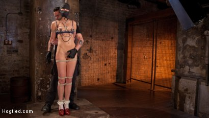 Photo number 4 from Brunette MILF Tormented in Bondage shot for Hogtied on Kink.com. Featuring Bianca Breeze and The Pope in hardcore BDSM & Fetish porn.