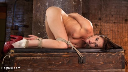 Photo number 13 from Brunette MILF Tormented in Bondage shot for Hogtied on Kink.com. Featuring Bianca Breeze and The Pope in hardcore BDSM & Fetish porn.
