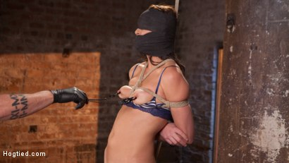 Photo number 14 from Brunette MILF Tormented in Bondage shot for Hogtied on Kink.com. Featuring Bianca Breeze and The Pope in hardcore BDSM & Fetish porn.