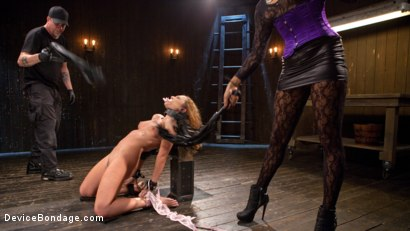 Photo number 13 from Turning the Tables shot for Device Bondage on Kink.com. Featuring Daisy Ducati, Roxanne Rae and The Pope in hardcore BDSM & Fetish porn.