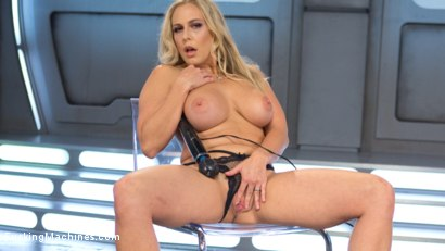 Photo number 13 from Platinum MILF takes an Anal Pounding!! shot for fuckingmachines on Kink.com. Featuring Angel Allwood in hardcore BDSM & Fetish porn.