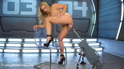 Photo number 4 from Platinum MILF takes an Anal Pounding!! shot for fuckingmachines on Kink.com. Featuring Angel Allwood in hardcore BDSM & Fetish porn.