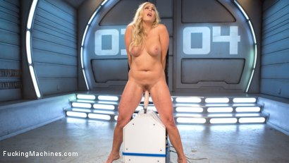 Photo number 8 from Platinum MILF takes an Anal Pounding!! shot for fuckingmachines on Kink.com. Featuring Angel Allwood in hardcore BDSM & Fetish porn.