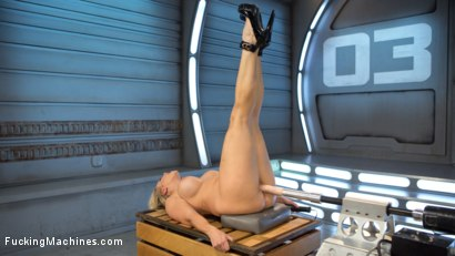 Photo number 7 from Platinum MILF takes an Anal Pounding!! shot for Fucking Machines on Kink.com. Featuring Angel Allwood in hardcore BDSM & Fetish porn.