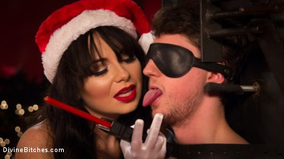 Photo number 3 from Merry Bitchmas! shot for Divine Bitches on Kink.com. Featuring Siouxsie Q and Grayson in hardcore BDSM & Fetish porn.