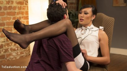 Photo number 11 from Oral Fixations with Venus Lux shot for TS Seduction on Kink.com. Featuring Venus Lux and Jay West in hardcore BDSM & Fetish porn.
