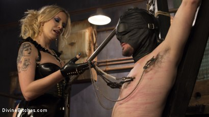 Photo number 1 from Two Days In Heaven: Part 1 shot for Divine Bitches on Kink.com. Featuring Maitresse Madeline Marlowe  and Slave Fluffy in hardcore BDSM & Fetish porn.