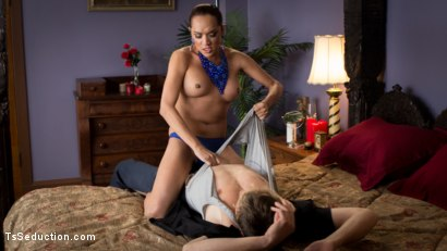 Photo number 2 from Sexy TS Fucking shot for TS Seduction on Kink.com. Featuring Jessica Fox and Daniel Lament in hardcore BDSM & Fetish porn.