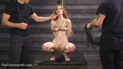 Photo number 1 from Squirting Slave Girl: Samantha Hayes Day Two shot for The Training Of O on Kink.com. Featuring Mr. Pete and Samantha Hayes in hardcore BDSM & Fetish porn.