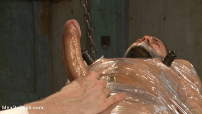 Photo number 11 from Health Inspectors Violate and Mummify a Hot Piece of Meat shot for Men On Edge on Kink.com. Featuring Dean Brody in hardcore BDSM & Fetish porn.