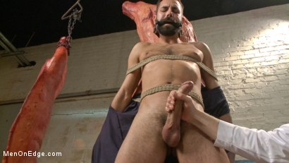 Photo number 6 from Health Inspectors Violate and Mummify a Hot Piece of Meat shot for Men On Edge on Kink.com. Featuring Dean Brody in hardcore BDSM & Fetish porn.