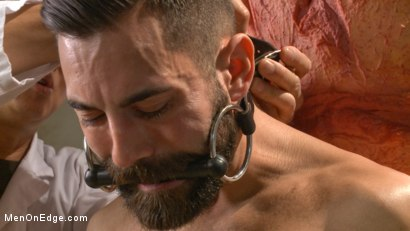 Photo number 3 from Health Inspectors Violate and Mummify a Hot Piece of Meat shot for Men On Edge on Kink.com. Featuring Dean Brody in hardcore BDSM & Fetish porn.