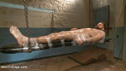 Photo number 14 from Health Inspectors Violate and Mummify a Hot Piece of Meat shot for Men On Edge on Kink.com. Featuring Dean Brody in hardcore BDSM & Fetish porn.