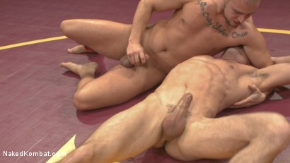 Photo number 11 from Lance Hart Tussles with Eli Hunter shot for Naked Kombat on Kink.com. Featuring Eli Hunter and Lance Hart in hardcore BDSM & Fetish porn.