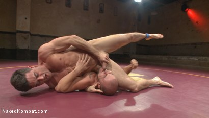 Photo number 9 from Lance Hart Tussles with Eli Hunter shot for Naked Kombat on Kink.com. Featuring Eli Hunter and Lance Hart in hardcore BDSM & Fetish porn.