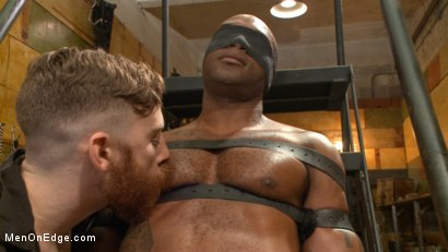Photo number 1 from Hung KinkMen PA Explores the Bondage Wall and Gets Edged shot for Men On Edge on Kink.com. Featuring Osiris Blade in hardcore BDSM & Fetish porn.