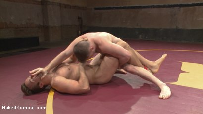 Photo number 4 from Champ vs Champ: Connor Patricks takes on Doug Acre shot for Naked Kombat on Kink.com. Featuring Connor Patricks and Doug Acre in hardcore BDSM & Fetish porn.