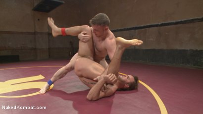 Photo number 13 from Champ vs Champ: Connor Patricks takes on Doug Acre shot for Naked Kombat on Kink.com. Featuring Connor Patricks and Doug Acre in hardcore BDSM & Fetish porn.