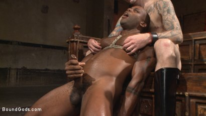 "Photo number 14 from Marine With a 10"" Cock Taken to the Limits of Torment shot for Bound Gods on Kink.com. Featuring Christian Wilde and Osiris Blade in hardcore BDSM & Fetish porn."