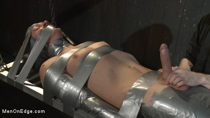 Photo number 10 from Straight Duct Tape Hostage Edged shot for Men On Edge on Kink.com. Featuring Zane Anders in hardcore BDSM & Fetish porn.