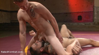 Photo number 8 from Zane Anders vs Rikk York shot for Naked Kombat on Kink.com. Featuring Rikk York and Zane Anders in hardcore BDSM & Fetish porn.