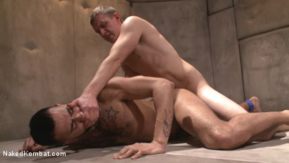 Photo number 9 from Zane Anders vs Rikk York shot for Naked Kombat on Kink.com. Featuring Rikk York and Zane Anders in hardcore BDSM & Fetish porn.