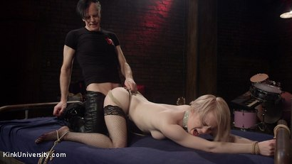 Photo number 7 from Fast Rope Bondage for Sex shot for Kink University on Kink.com. Featuring Danarama and Anna Tyler in hardcore BDSM & Fetish porn.