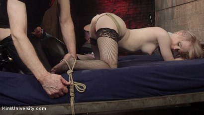 Photo number 5 from Fast Rope Bondage for Sex shot for Kink University on Kink.com. Featuring Danarama and Anna Tyler in hardcore BDSM & Fetish porn.