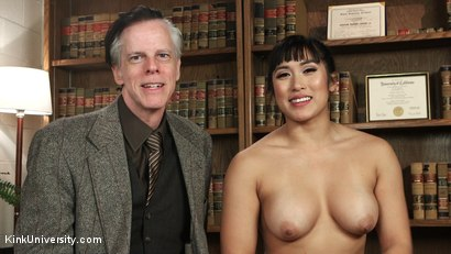 Photo number 18 from Oral Sex Taste Test shot for Kink University on Kink.com. Featuring Owen Gray and Mia Li in hardcore BDSM & Fetish porn.