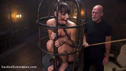 Photo number 2 from The Submission of Charlotte Cross shot for Sex And Submission on Kink.com. Featuring Charlotte Cross and Mark Davis in hardcore BDSM & Fetish porn.