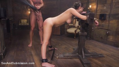 Photo number 5 from The Submission of Charlotte Cross shot for Sex And Submission on Kink.com. Featuring Charlotte Cross and Mark Davis in hardcore BDSM & Fetish porn.