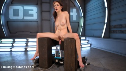 Photo number 9 from Petite Fuck Doll Gets Her Pussy Pounded and Ass Fucked by Machines shot for Fucking Machines on Kink.com. Featuring Anna De Ville in hardcore BDSM & Fetish porn.