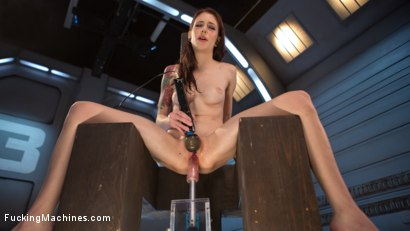Photo number 11 from Petite Fuck Doll Gets Her Pussy Pounded and Ass Fucked by Machines shot for Fucking Machines on Kink.com. Featuring Anna De Ville in hardcore BDSM & Fetish porn.