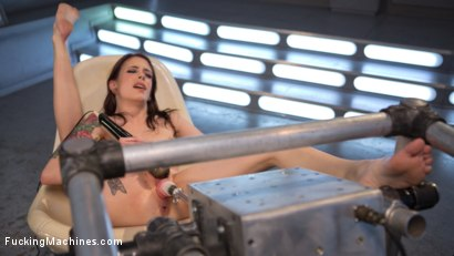 Photo number 16 from Petite Fuck Doll Gets Her Pussy Pounded and Ass Fucked by Machines shot for Fucking Machines on Kink.com. Featuring Anna De Ville in hardcore BDSM & Fetish porn.