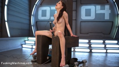 Photo number 10 from Petite Fuck Doll Gets Her Pussy Pounded and Ass Fucked by Machines shot for Fucking Machines on Kink.com. Featuring Anna De Ville in hardcore BDSM & Fetish porn.