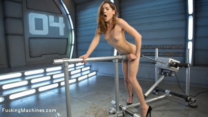 Photo number 5 from Flexible 19 Year Old Gets Machine Fucked shot for Fucking Machines on Kink.com. Featuring Kasey Warner in hardcore BDSM & Fetish porn.