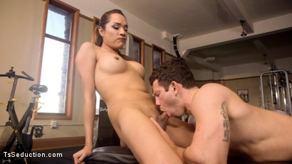 Photo number 16 from Gym Bunny Gives Horny Voyeur What He Deserves shot for TS Seduction on Kink.com. Featuring Reed Jameson and Jessica Fox in hardcore BDSM & Fetish porn.
