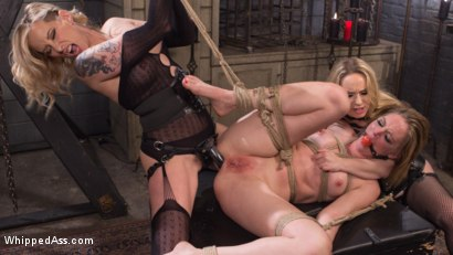 Photo number 13 from Maitresse Madeline and Aiden Starr haze, domme and fuck Mona Wales! shot for Whipped Ass on Kink.com. Featuring Maitresse Madeline Marlowe , Aiden Starr and Mona Wales in hardcore BDSM & Fetish porn.
