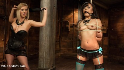 Photo number 5 from The Return of Annie Cruz!!! shot for Whipped Ass on Kink.com. Featuring Cherry Torn and Annie Cruz in hardcore BDSM & Fetish porn.