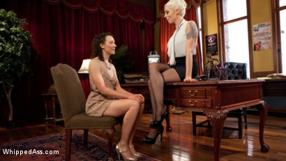 Photo number 1 from Lesbian Professor Seduces and Dominates Hot Co-Ed! shot for Whipped Ass on Kink.com. Featuring Lilith Luxe and Lorelei Lee in hardcore BDSM & Fetish porn.